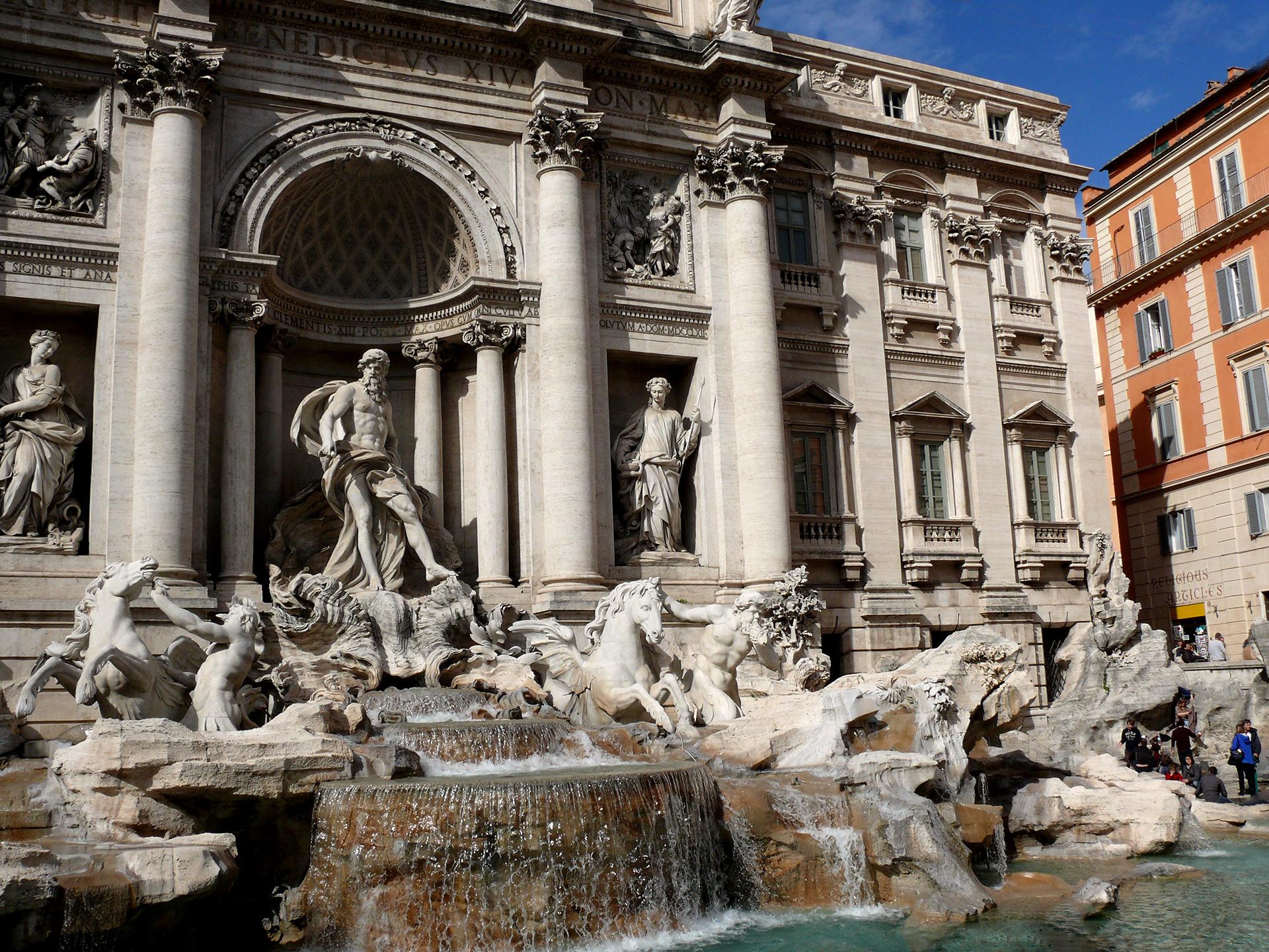 Rome - La fontaine de Trévi