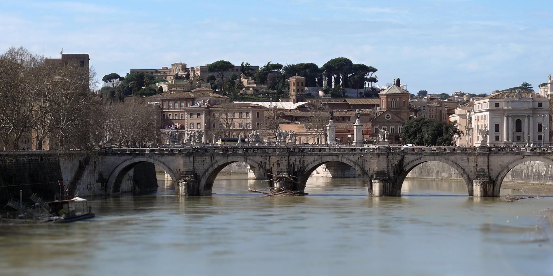 Rome - Pont Umberto I