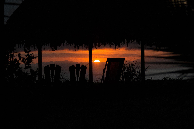 Costa Rica - Coucher de soleil à Iguana lodge aux abords du Corcovado