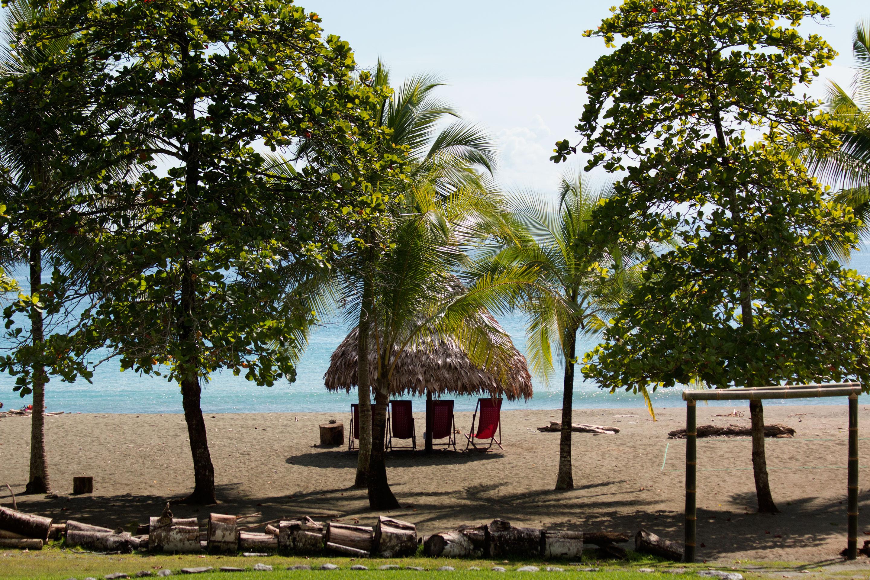 Costa Rica - Vue de notre chambre à Iguana Logde aux portes du Corcovado