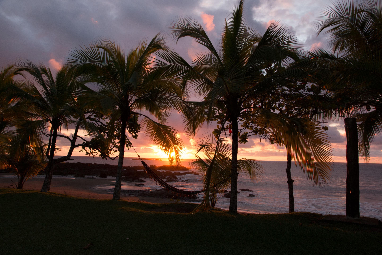 Costa Rica - coucher de soleil à San Pedrillo