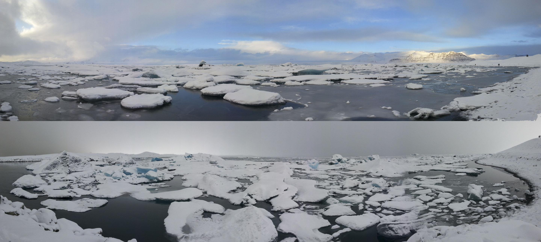 Islande – Jökulsárlón – Changement de temps
