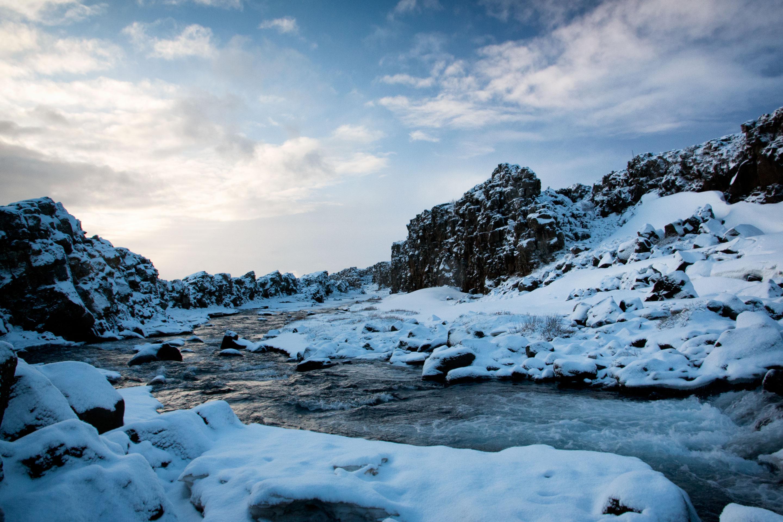 Islande - Thingvellir - Oxararfoss - Rivière