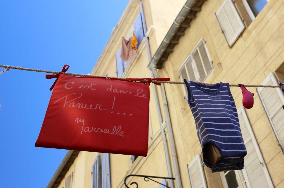 Street Art au quartier du Panier de Marseille