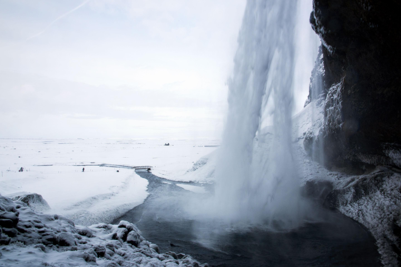 Islande - Seljalandsfoss - Balade derrière la chute d'eau