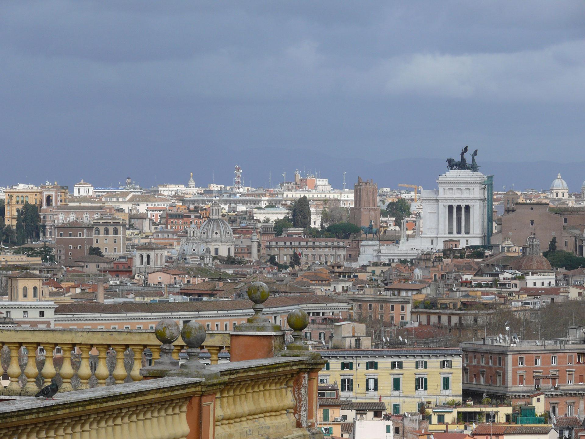 Rome - vue de de la colline du Janicule